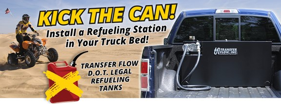 Kick the Can! Install a refueling station in your truck bed!