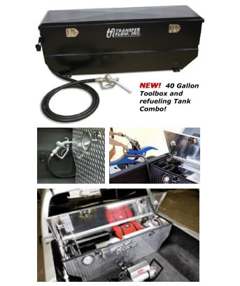 Toolbox Refueling Tank Combo