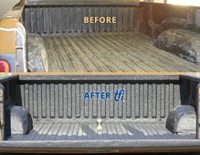 Before After Spray-on Bedliner