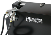 Transfer Flow custom gas tank