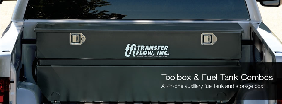 Toolbox and Fuel Tank Combos. All-in-one auxillary fuel tank and storage box