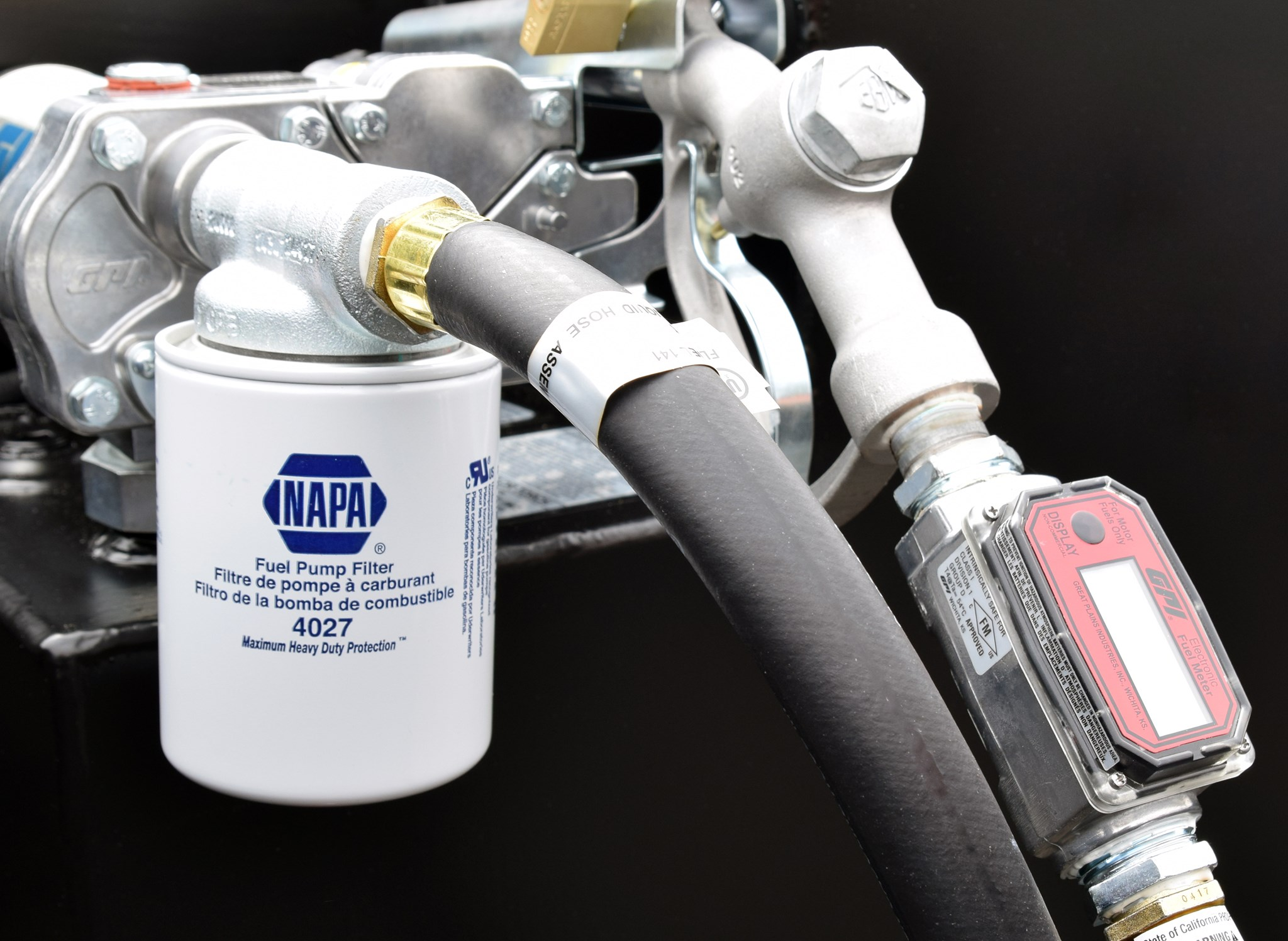 Napa In-line Fuel Filter Kit for Refueling Tank - Transfer Flow, Inc. -  Aftermarket Fuel Tank Systems