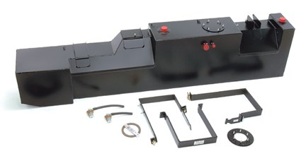 "Truck Bed Dimensions >> 34 Gallon Ford Cab Chassis Midship Replacement Fuel Tank - 84""-120"" CA - Transfer Flow, Inc ..."