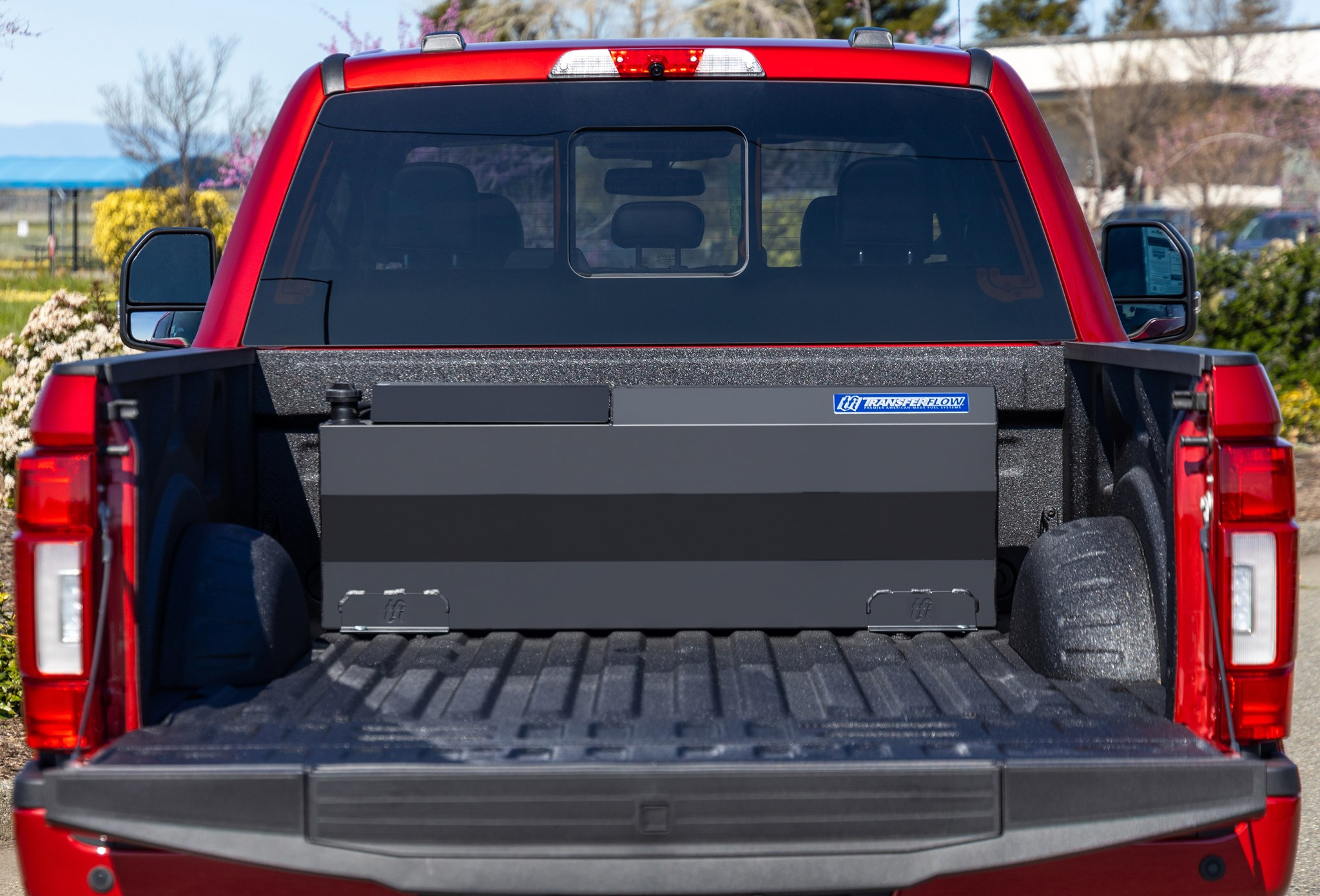 37 Gallon In-Bed Auxiliary Fuel Tank System - TRAX 3 ...