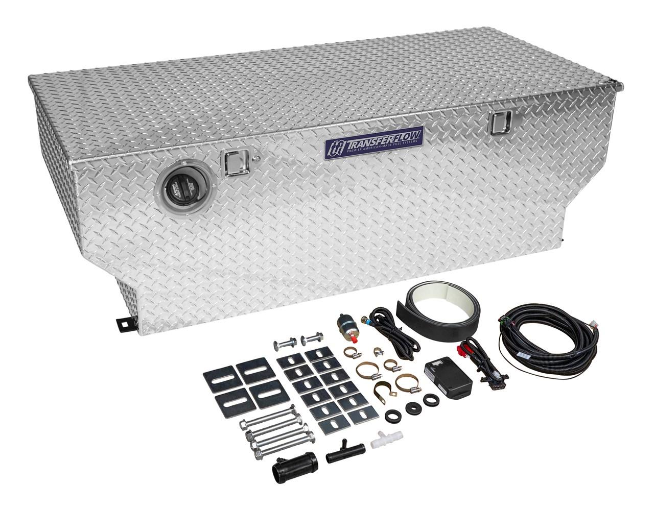 50 Gallon Fuel Tank And Tool Box Combo Trax 3 Transfer Flow Inc Ram Filter 0800116187