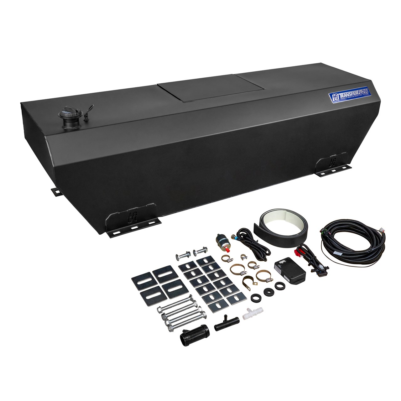 50 Gallon In Bed Auxiliary Fuel Tank System Trax 3 Transfer Flow Ram Filter 0800116625