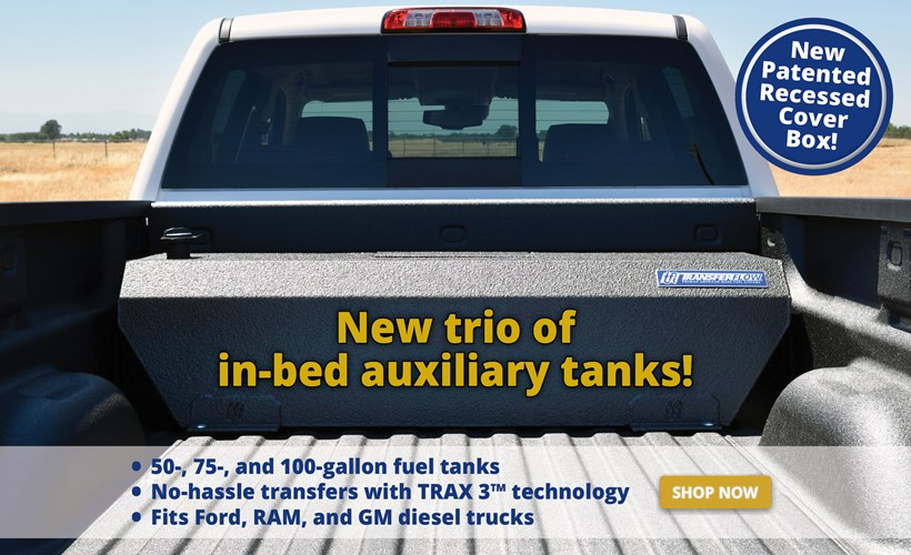 New trio of in-bed auxiliary fuel tanks!
